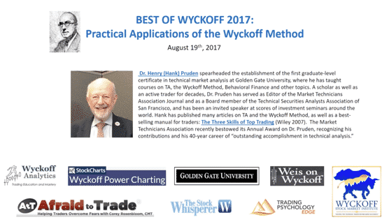 Best of Wyckoff 2017: Practical Applications of the Wyckoff Method